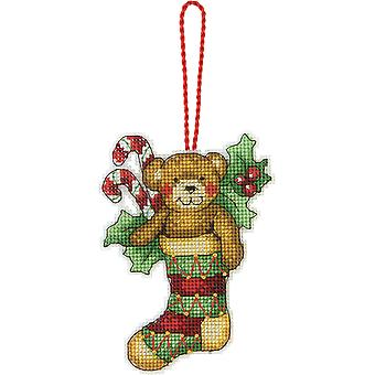 Susan Winget Bear Ornament gezählt Cross Stitch Kit-3,25