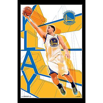 Golden State Warriors - Klay Thompson Poster Print
