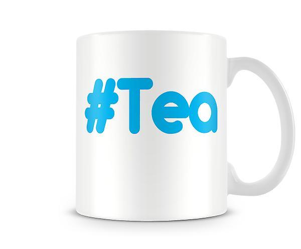 Taza impresa del té hash