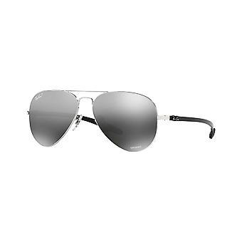 Ray - Ban RB8317CH silver Chromance mirrored gray polarized money