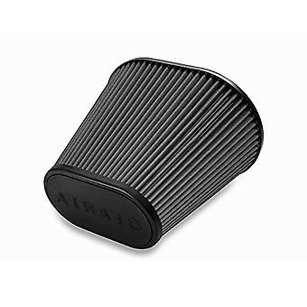 Airaid 722-476 Universal Clamp-On Air Filter: Oval Tapered; 6 in (152 mm) Flange ID; 9 in (229 mm) Height; 10.75 in x 7.