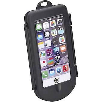 Smartphone handlebar holder Herbert Richter Smartphone-Spritzschutz-Box L Black