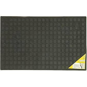 Car floor mat (raised borders) Universal Rubber (L x W) 41 cm x 60 cm
