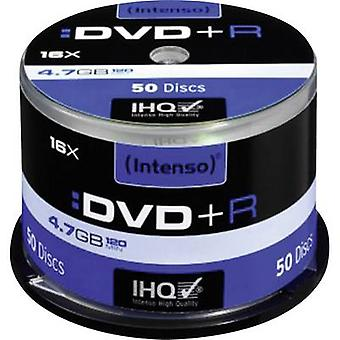 Blank DVD+R 4.7 GB Intenso 4111155 50 pc(s) Spindle