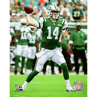 Sam Darnold 2018 ação Photo Print