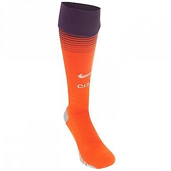 2018-2019 Man City Nike Third Socks (Orange)