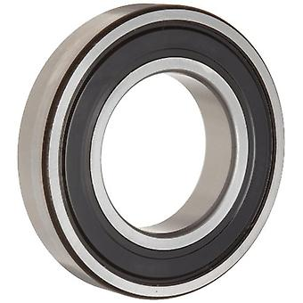 Timken 209PP Ball Bearing, Double Sealed, No Snap Ring, Metric, 45 mm ID, 85 mm OD, 19 mm Width, Max RPM, 4600 lbs Stati