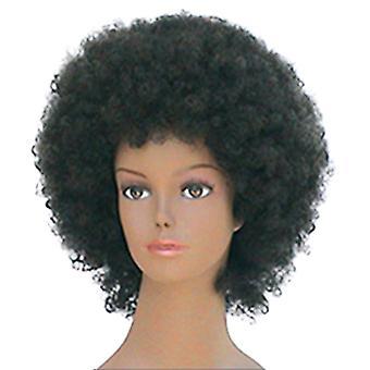 Fashion women medium curly E AFRO professional wig