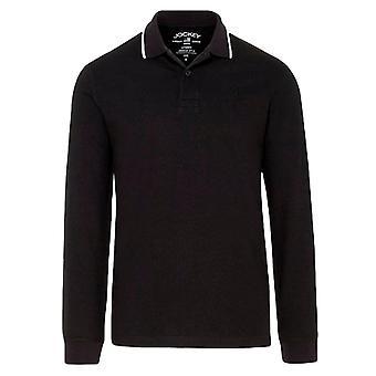 Jockey Long Sleeve Polo Shirt - Black