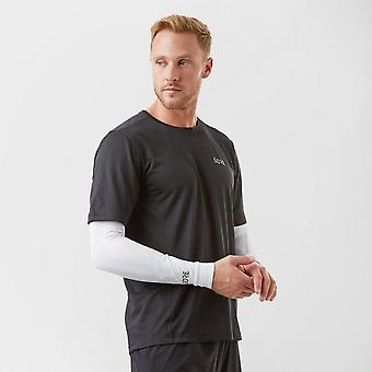 New Gore Men's Lightweight Arm Warmers White