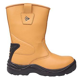 Dunlop Mens sicurezza Rigger stivali scarpe in acciaio tappo olio impermeabile antiscivolo Resist