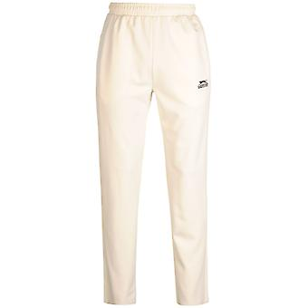 Slazenger Mens Cricket Trousers Pants Bottoms Elasticated Waist Drawstring