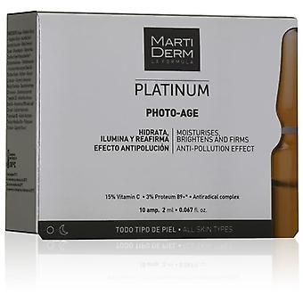 Martiderm Ampoules Antiage Photo Age x 10 (Cosmetics , Facial , Concentrates)