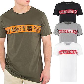 Alpha industries mäns T-Shirt RBF