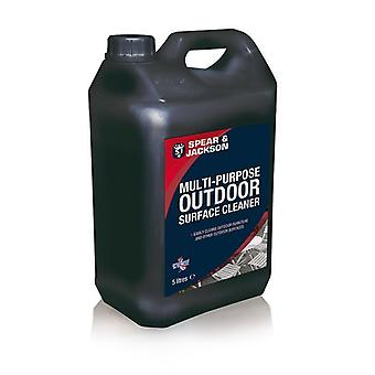 Multi-Purpose Outdoor Cleaner 5L Spear & Jackson  Path Patio Drivweay Bricks