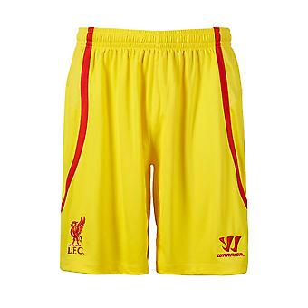 2014-15 Liverpool bort Shorts (gul)