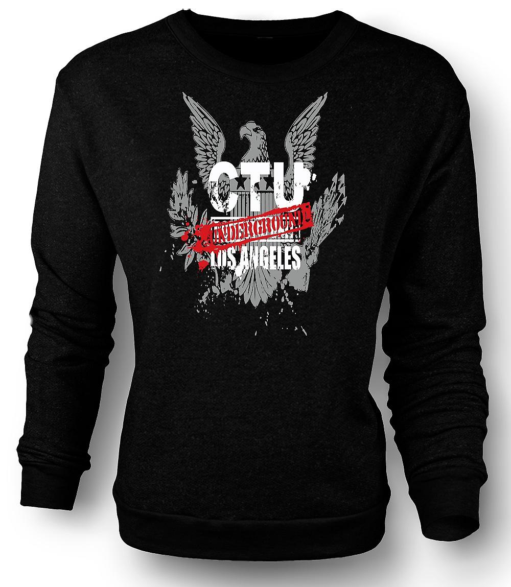 Mens Sweatshirt 24 Jack Bauer Underground LA - Movie