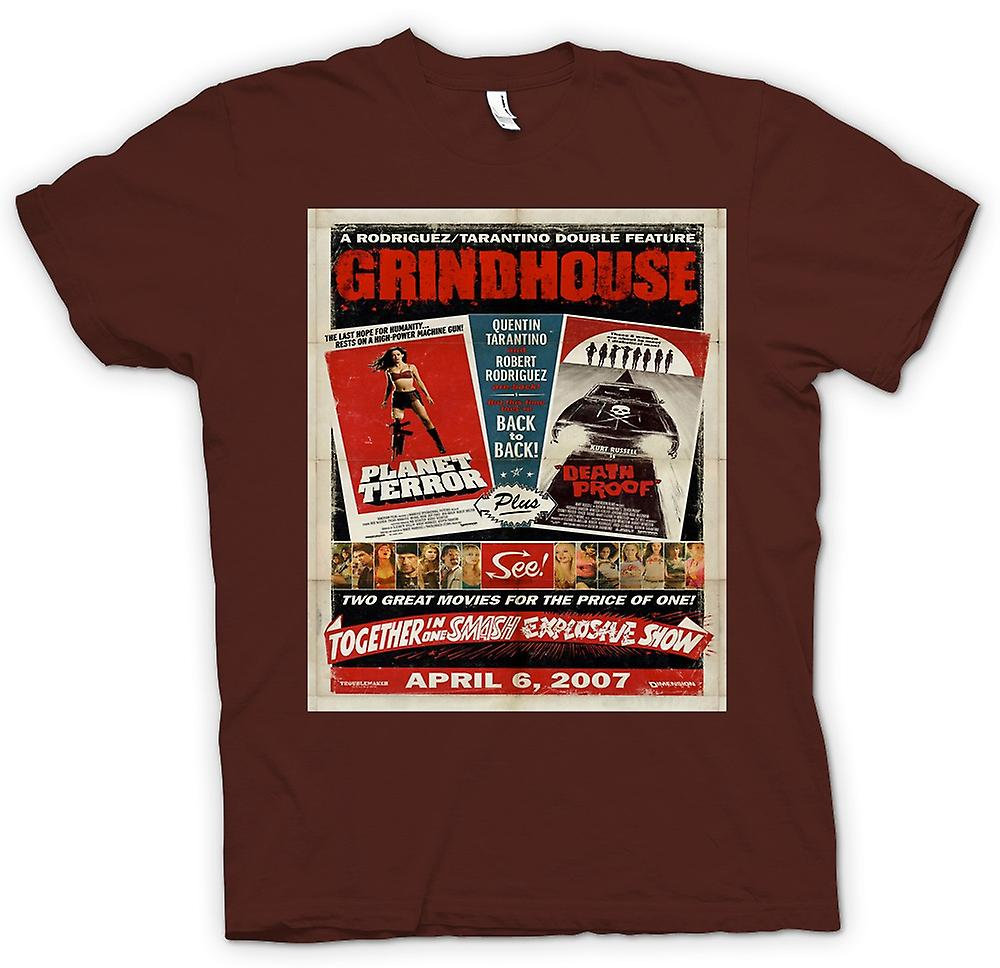 Mens T-shirt - Grindhouse Planet Terror / Death Proof