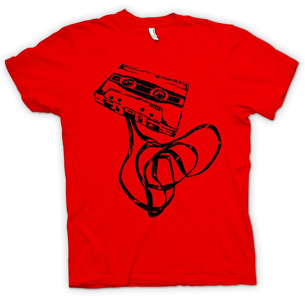 Mens T-shirt-Old Skool Tape