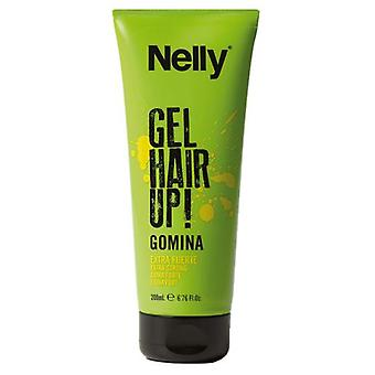 Nelly Hair Up! Gel Styling Gel Extra-Strong travel size 50 ml