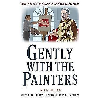 Försiktigt med målarna