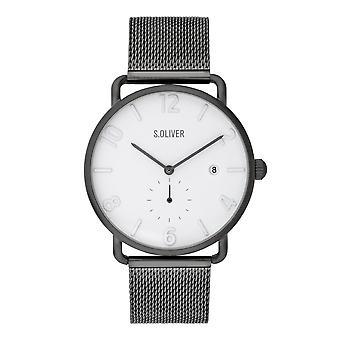s.Oliver mænds ur armbåndsur rustfrit stål SO-3719-MQ