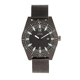 Elevon Jeppesen Bracelet Watch w/Date - Black