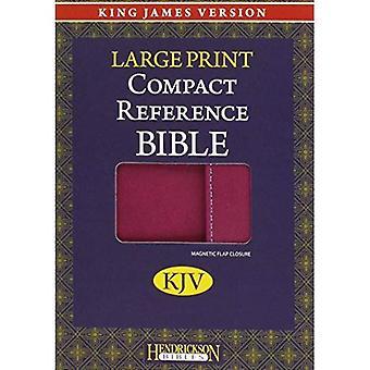 Large Print Compact Reference Bible-KJV-Magnetic Flap [Large Print]