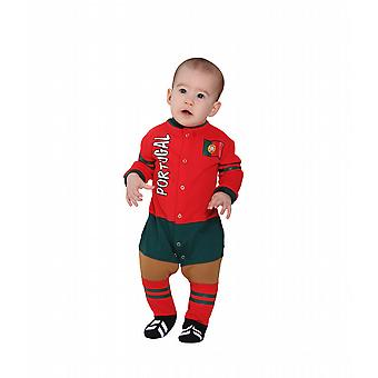 Portugal Football Baby Suit