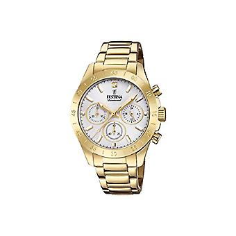 Festina Chronograph quartz ladies Watch with stainless steel band F20400/1