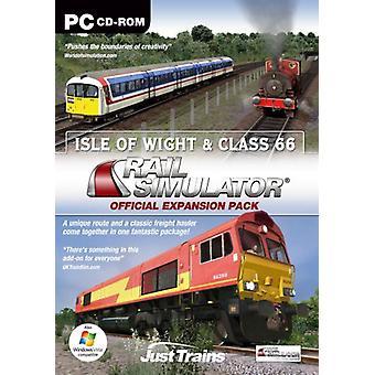 Isle Of Wight klasse 66 til Rail Simulator Railworks Railworks 2 (PC)