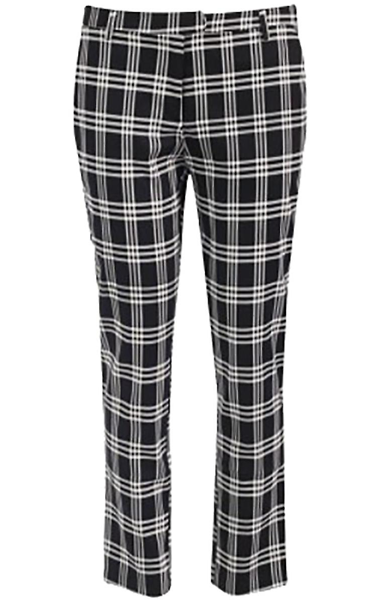 Waooh - Cropped tartan suit style