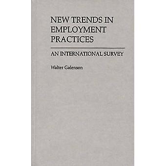 Nya trender i sysselsättning praxis en internationell undersökning av Galenson & Walter