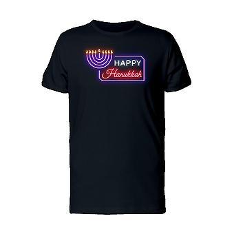 Happy Hanukkah i skarpe effekt Tee mænds-billede af Shutterstock