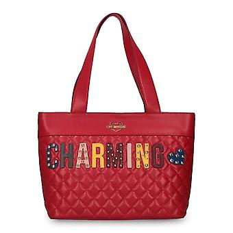 Love Moschino Women Red Shoulder bags -- JC42971056