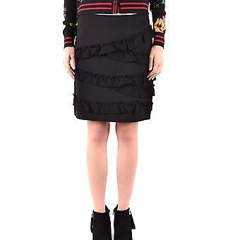 Twin-set Black Viscose Skirt