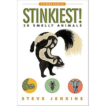 Stinkiest! 20 Smelly Animals by Steve Jenkins - 9781328841971 Book