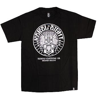 REBEL8 fogna re t-shirt Black