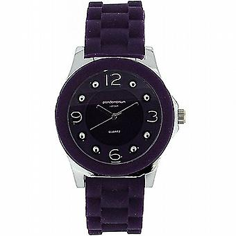 Pandemonium London Purple Strap Ladies Sports Watch PL118