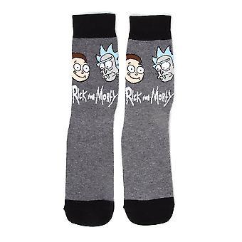 022a8610 Rick og Morty Big Faces Crew sokker