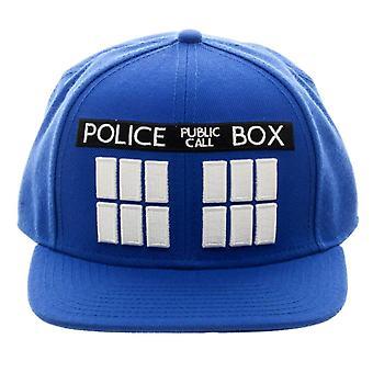 Doctor Who TARDIS Snapback Cap
