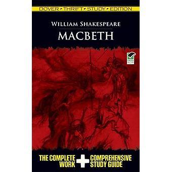 Macbeth Thrift Study by William Shakespeare - 9780486475752 Book