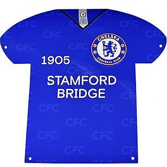 Sinal da camisa do metal de Chelsea