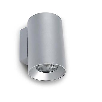 Cosmos Grey Medium Double LED Outdoor Wall Light - Leds-C4 05-9955-34-CL