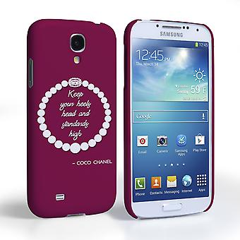 Caseflex Samsung Galaxy S4 Chanel Diamond And Pearls Quote Case