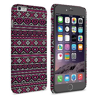 Caseflex iPhone 6 and 6s Plus Fairisle Case – Pink and Black