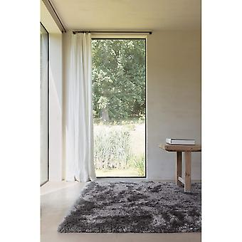 Uni Adore Shaggy Rugs 207 001 950 In Grey By Ligne Purepure