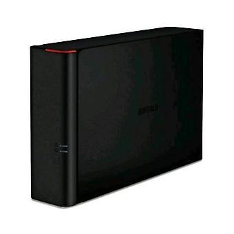Buffalo technology ls210d0401-eu nas chassis desktop lan 10/100/1000 1bay total 4,000 gb black italy (ls210d0401-eu)