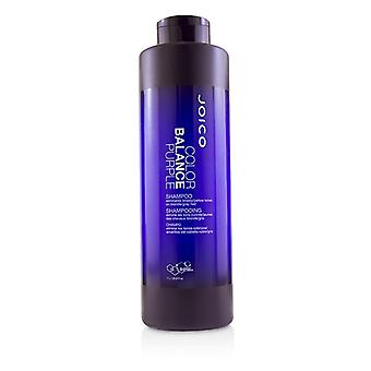 Joico Color Balance Purple Shampooing (Eliminates Brassy/Yellow Tones on Blonde/Gray Hair) 1000ml/33.8oz