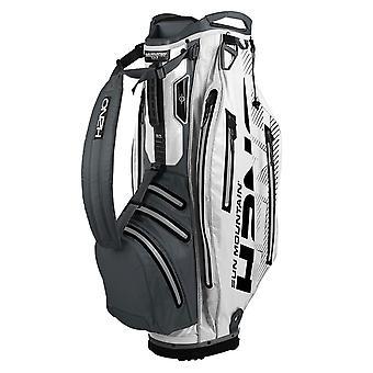 Sun Mountain H2NO Elite Cart Trolley Golf Bag Grey/White